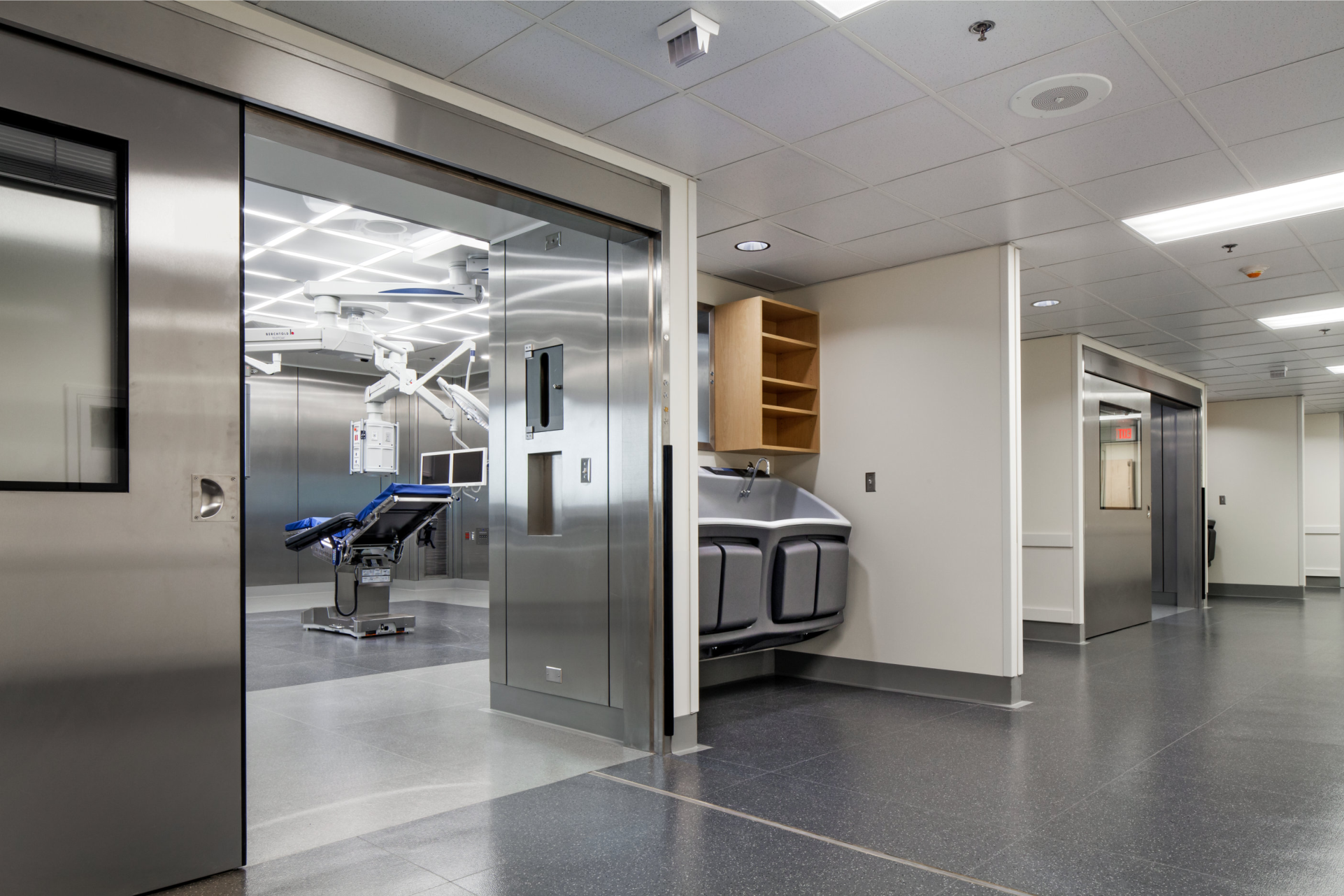 mfPHD Operating Room Doors at Yale New Haven Hospital